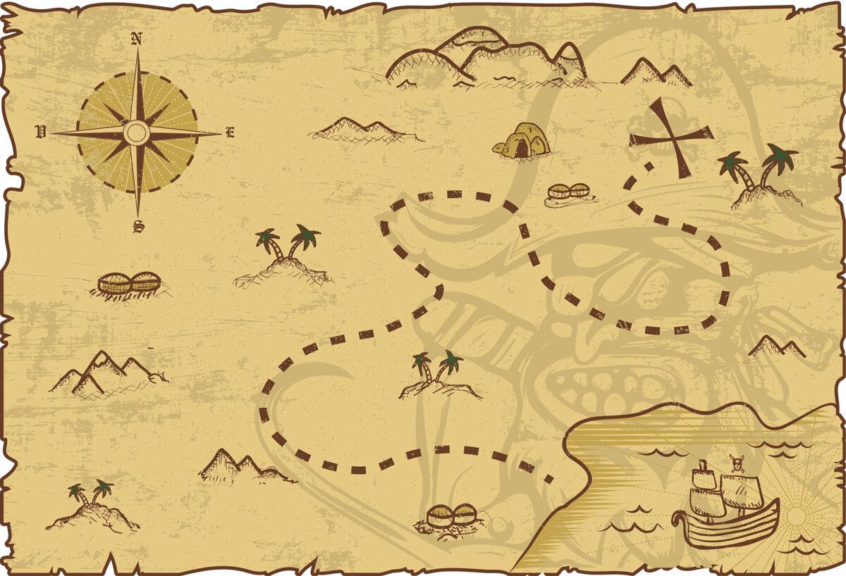 kalóz térkép gyerekeknek Szitakötő Irodalmi Kalandtábor 12 18 éveseknek